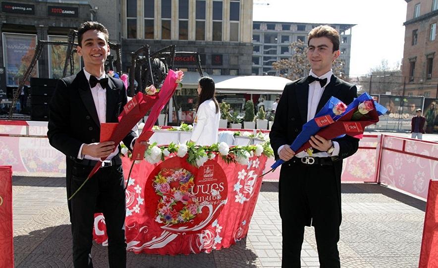8 марта в Армении продолжается до 7 апреля