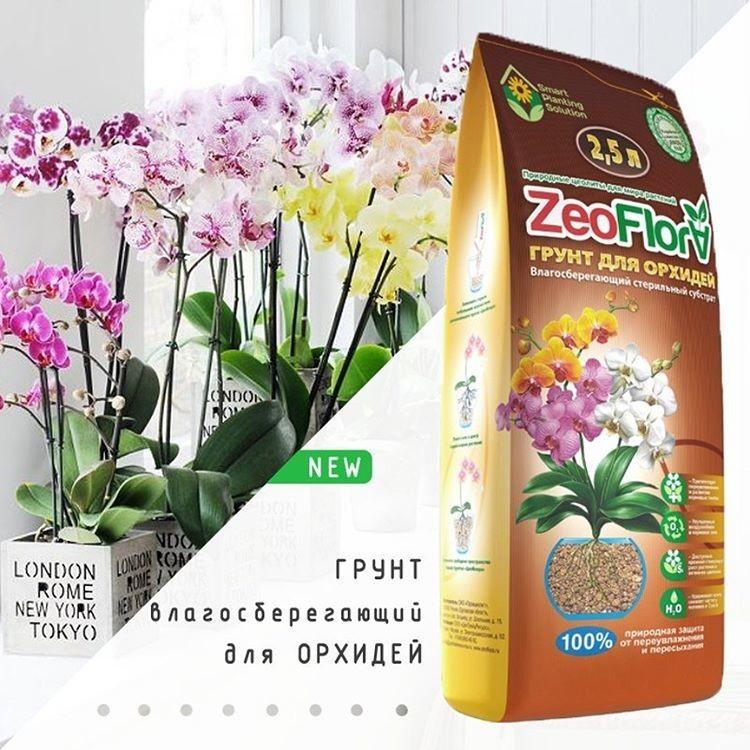 ZeoFlora для орхидей