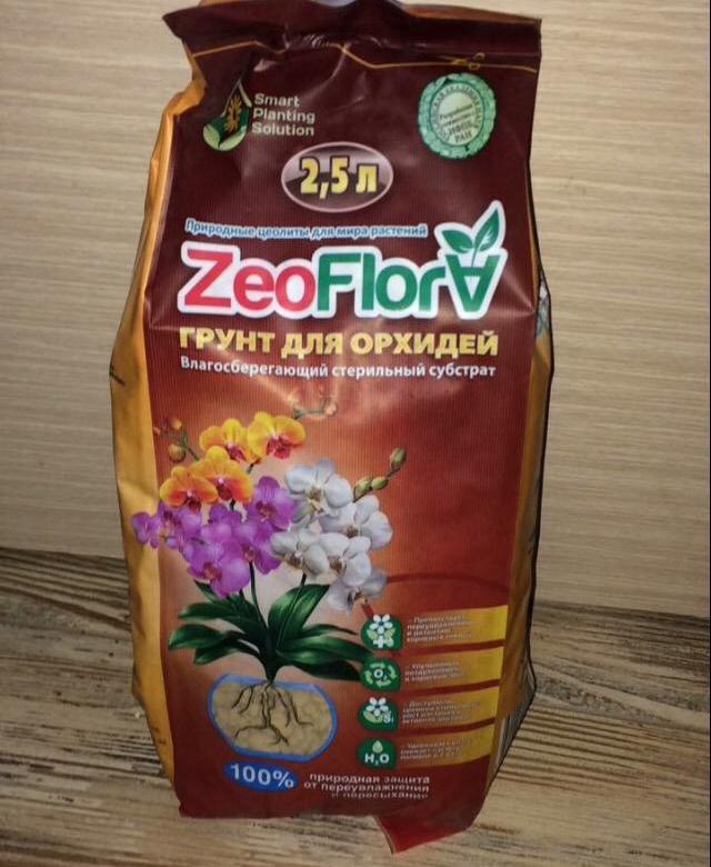 Цеофлора - субстрат для орхидей