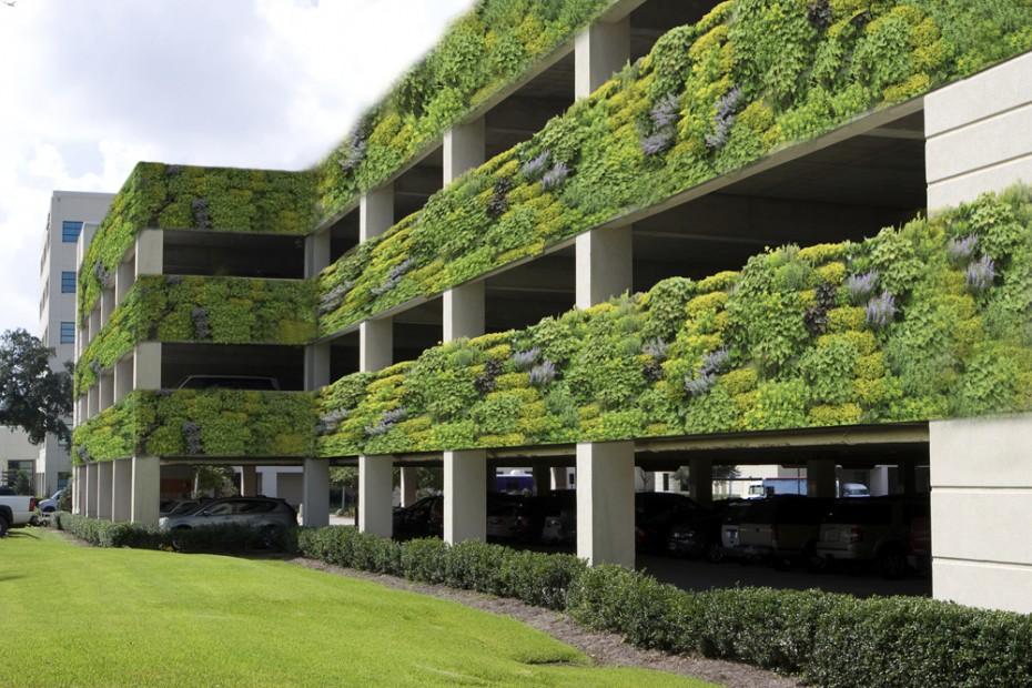 Города будущего будут иметь больше зеленых стен и крыш
