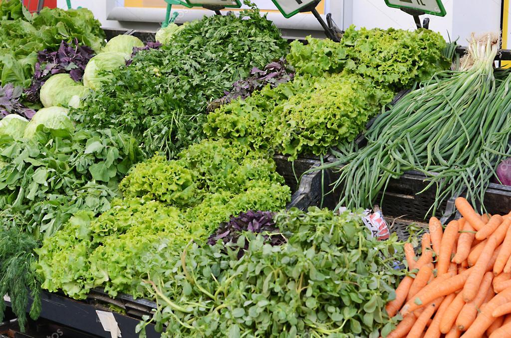 Когда салат растёт на полках супермаркета