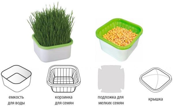 Здоровое Питание / проращиватель семян