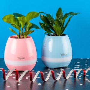 Умный горшок Smart Music Flowerpot модель TOKQUI К3